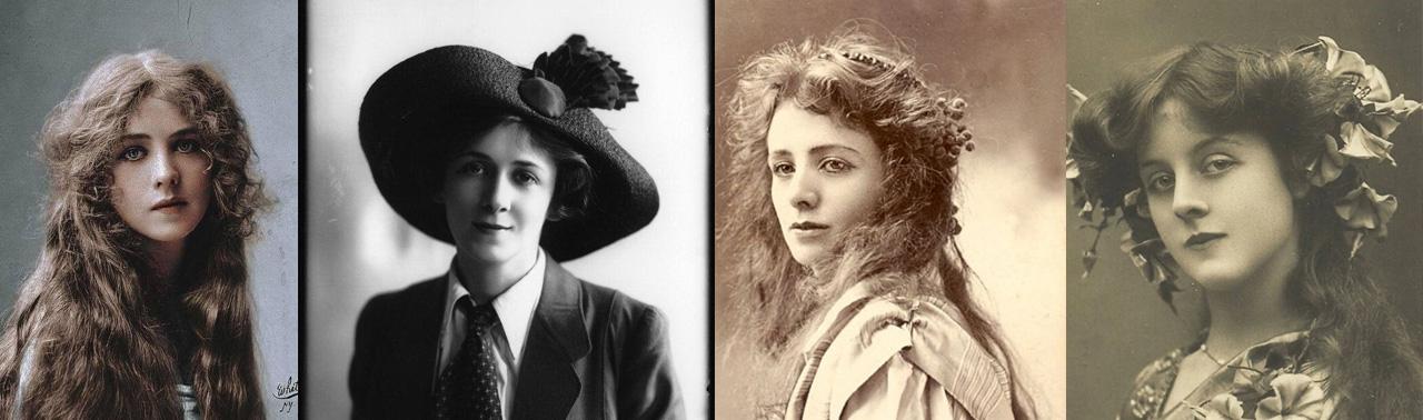 زیبایی به قدمت صد سال؛ تصاویری از زیباترین زنان یک سده قبل