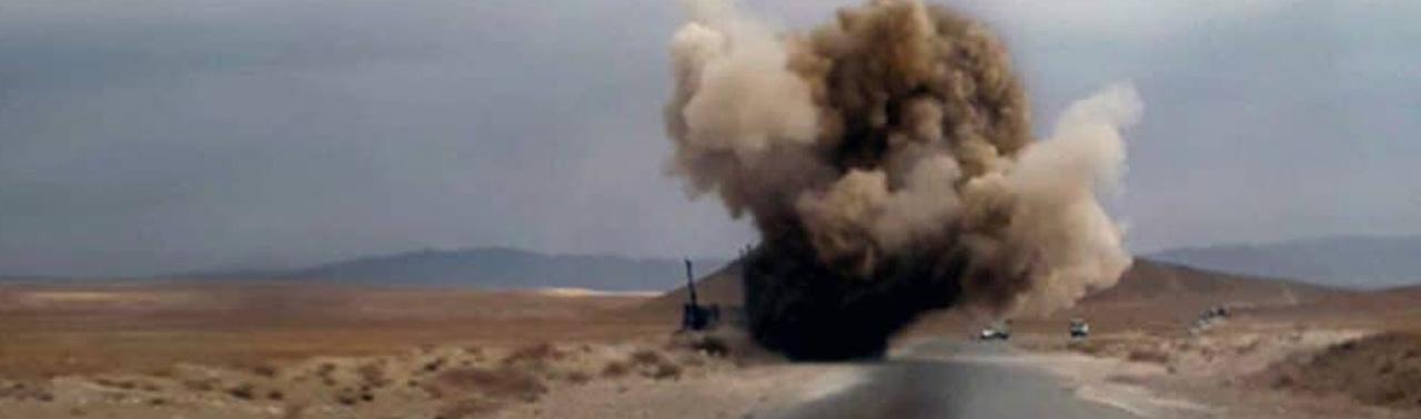 در انفجار ماین کنار جاده ای در دو ولایت ۲۰ غیرنظامی کشته و زخمی شدند