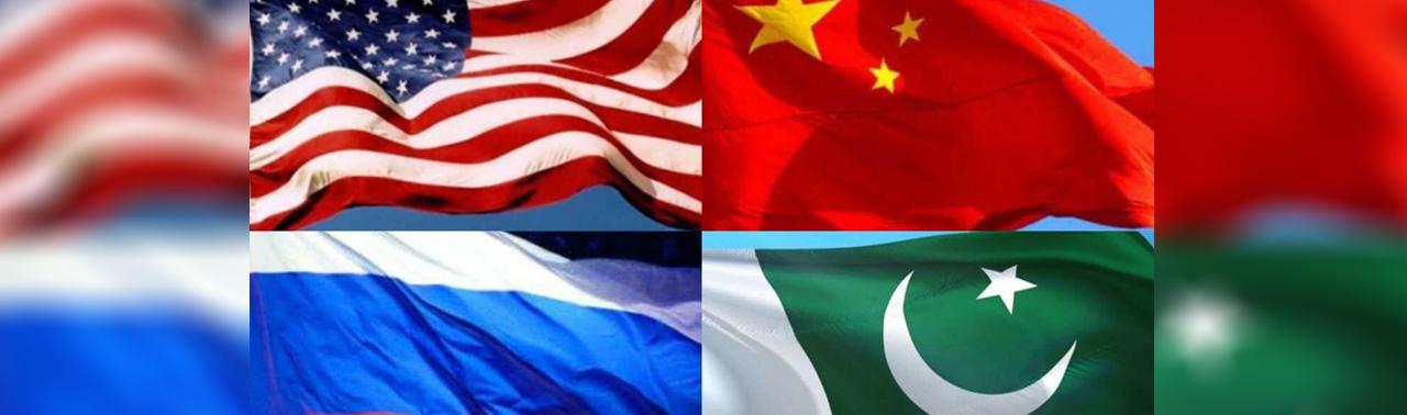 آمریکا، چین، روسیه و پاکستان در مورد گفتگوهای بین الافغانی گفتگو کردند