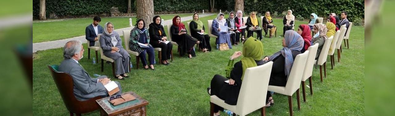 عبدالله: سهم معنادار زنان در حکومت و امور صلح حفظ خواهد شد
