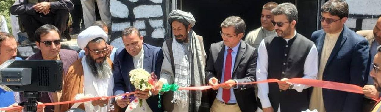 چهارمین جشنوارهی گلکچالو با بهرهبرداری ۹۵ ذخیرهخانه در بامیان تجلیل شد