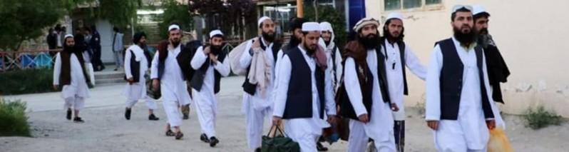 رهایی ۳۱۷ زندانی طالبان؛ شمار زندانیان رها شده شورشیان به چهارهزار ۹۱۴ تن رسید