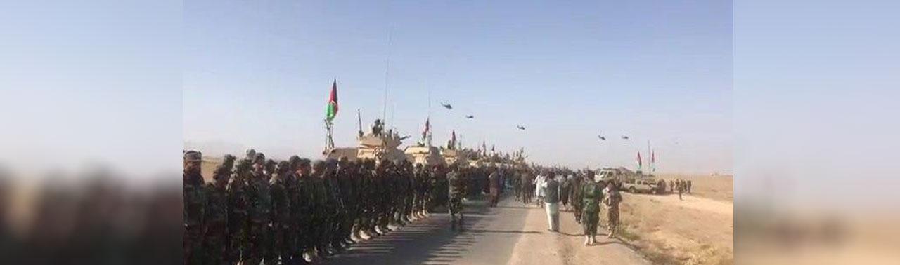 ادامه مانور نظامی نیروی های ارتش در ولایت های هم سرحد با پاکستان