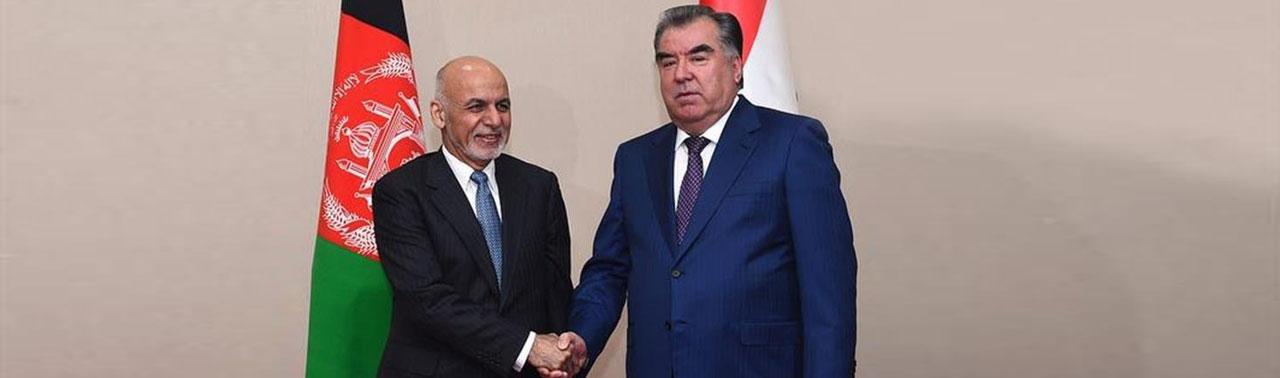 گفتگوی تیلفونی دو رییس جمهور؛ امام علی رحمان اشرف غنی را به تاجیکستان دعوت کرد