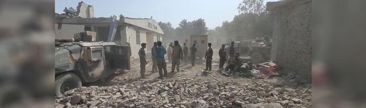 تکمیلی/ انفجار در بلخ؛ ۷ نیروی کماندو و بیش از ۳۷ غیرنظامی کشته و زخمی شدند