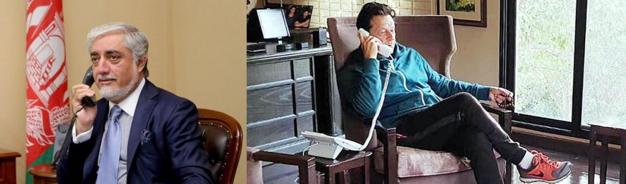 گفتگوی تلیفونی عبدالله و عمران خان؛ دعوت از رییس شورای عالی مصالحه به اسلام آباد