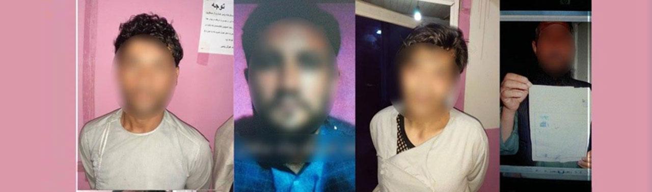 گروه ۹ نفری که قصد حمله بالای عزاداران حسینی در کابل را داشتند، بازداشت شدند
