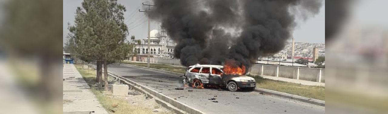 تکمیلی/ اصابت ۱۴ فیر راکت در کابل ۱۰ زخمی برجای گذاشت