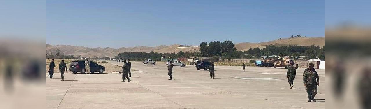 اعتراضات در بادغیس؛ معاون والی از دفتر کارش اخراج و به هواپیمایی حامل والی اجازه نشست داده نمی شود