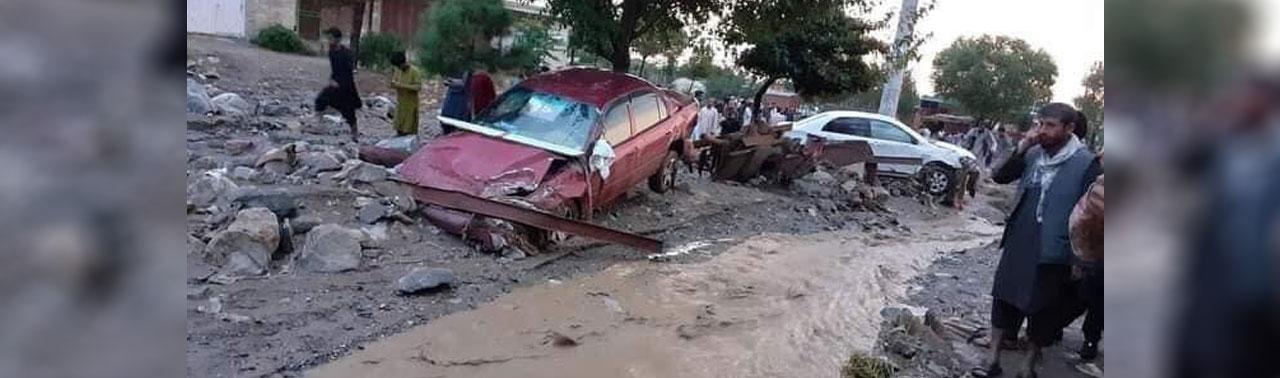 شمار قربانیان سیلاب در پروان به ۶۰ کشته و ۹۰ زخمی افزایش یافت