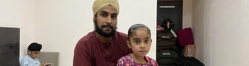 بیش از ۴۰۰ شهروند سیک افغان در هند مسکن گزین شدند