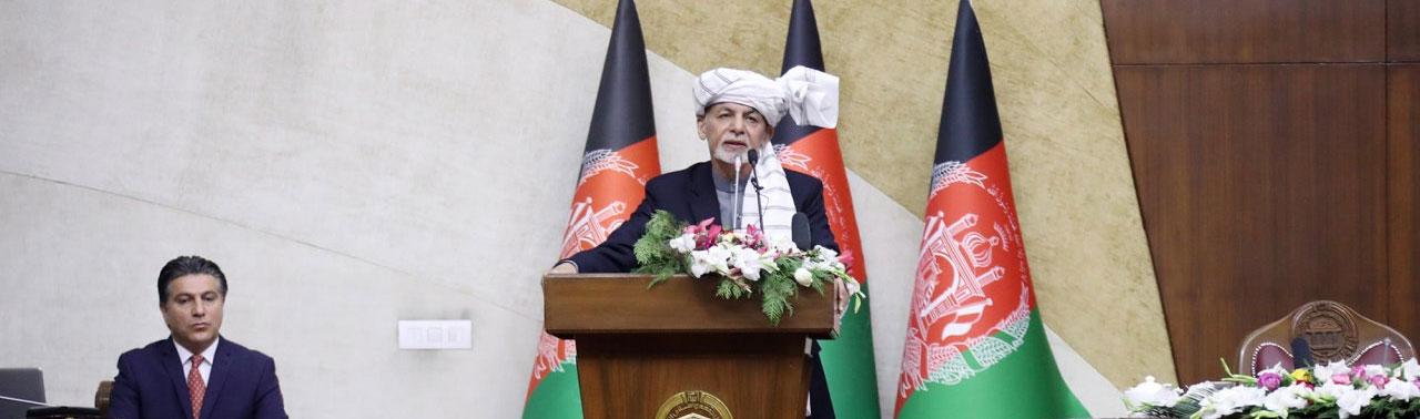 از خشم تا هشدار؛ غنی در پارلمان: طالبان هیچ وقت با روایت پیروزی خود پیروز نخواهد شد