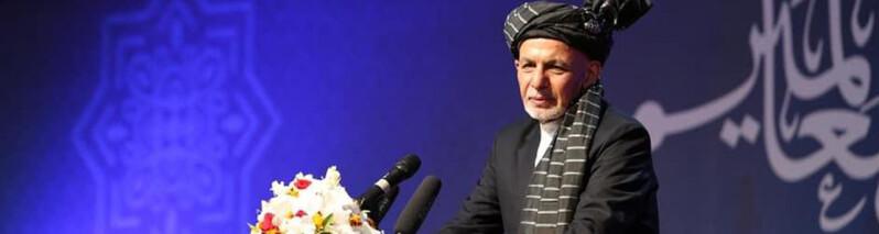 غنی؛ طالبان در مذاکرات توافقنامه با امریکا را بر شریعت ترجیح داده اند