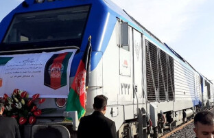 خط آهن خواف – هرات به بهره برداری رسید
