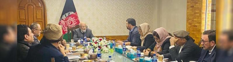 آغاز گفتگو ها روی آجندای مذاکرات؛ وزارت خارجه تلاش های دیپلماتیک برای موفقیت صلح را آغاز کرد است