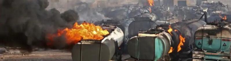 آتش سوزی گسترده و زیان هنگفت مالی در بندر اسلام قلعه؛ خطای انسانی عامل این رویداد بوده است