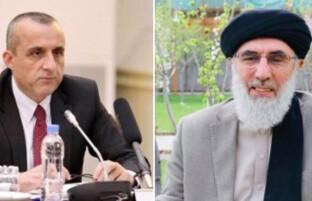واکنش ها به اظهارات حکمتیار؛ صالح هشدار رهبر حزب اسلامی را «فکاهی سیاسی» خواند
