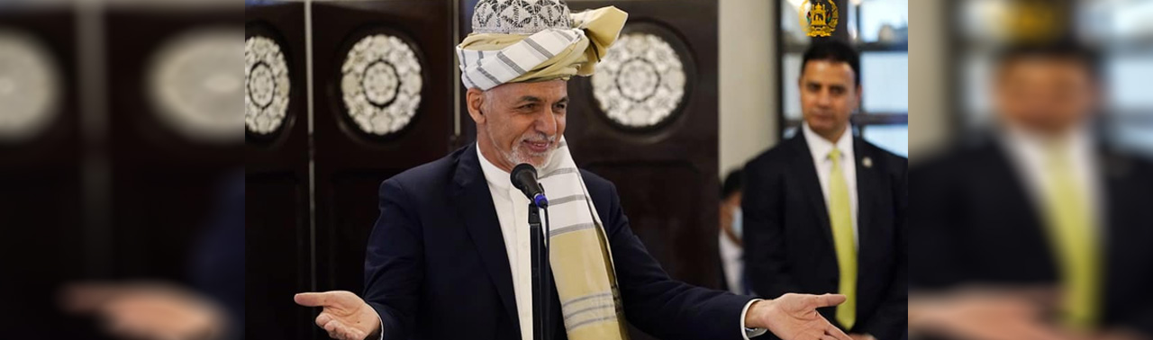 غنی: پاکستان جنگ اعلام ناشده را پایان دهد