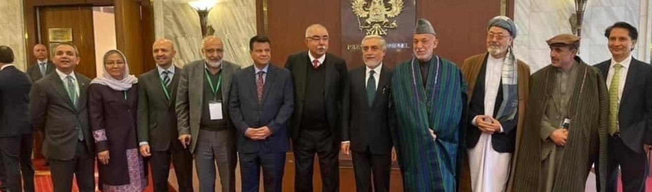 گفتگوهای صلح افغانستان؛ نشست مسکو رسما آغاز شد!