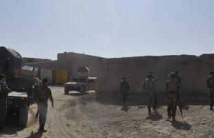 ادامه درگیری ها در ولسوالی قره باغ غزنی؛ یک هزار خانواده بیجا شده اند