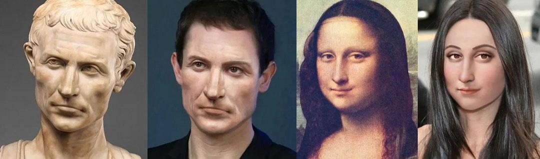 بازسازی شخصیت های تاریخی؛ چهره های تاریخی در عصر مدرن چگونه  دیده می شدند