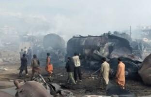 آتش سوزی گسترده در کابل؛ هفت تن جانباخته و 14 تن زخمی شده اند