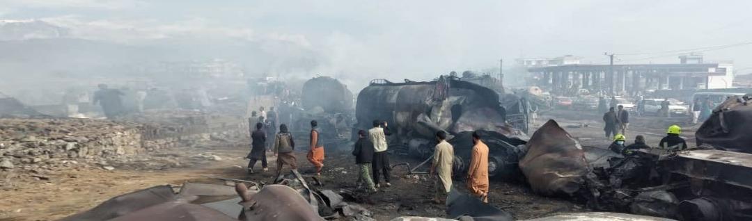 آتش سوزی گسترده در کابل؛ هفت تن جانباخته و ۱۴ تن زخمی شده اند