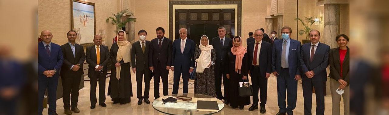 تلاش های تازه در روند مصالحه؛ نمایندگان چهار کشور: با خروج نیروهای بین المللی روند صلح مختل نشود