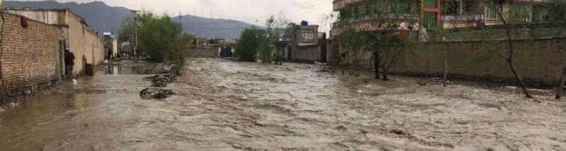 سیلاب ها در افغانستان؛ ۷۸ نفر کشته و ۳۲ نفر مفقود شده اند