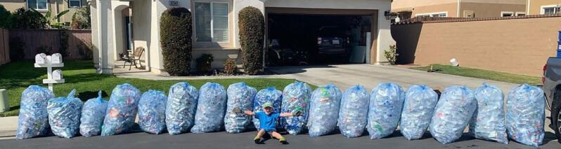 پسر ۱۱ ساله ای در کالیفرنیا یک شرکت بازیافت موفق را اداره می کند