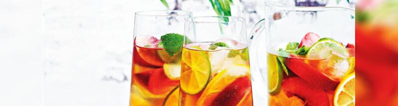 ۵ دمنوش تابستانی فوق العاده که امسال باید امتحان کنید + رسپی ۶ یخ چای خوشمزه