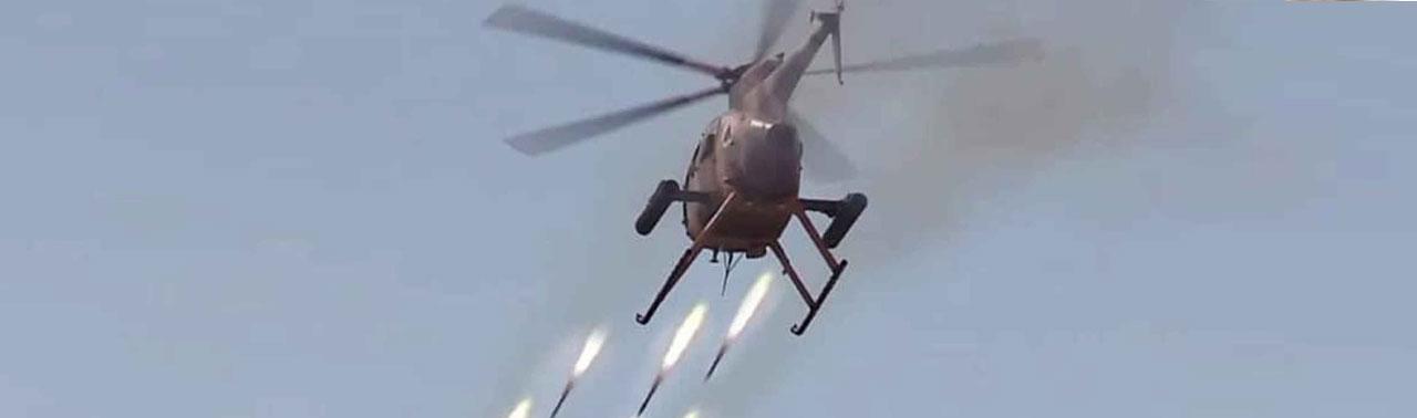 ۵۵ شورشی طالب در حمله هوایی در بلخ کشته شدند
