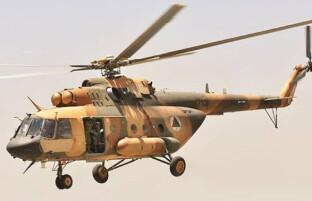هلیکوپتر ارتش در هلمند فرود اضطراری داشته است
