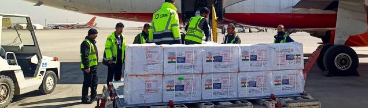 ۱۲۴۸۰۰ دوز واکسن کووید-۱۹ وارد افغانستان شد