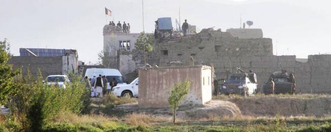 حمله طالبان به زندان غزنی دفع شد