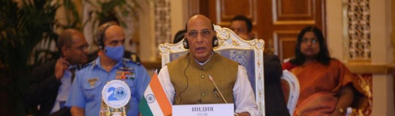وزیر دفاع هند: سازمان همکاری شانگهای باید برای منطقهای امن و پایدار، به افغانستان کمک کند
