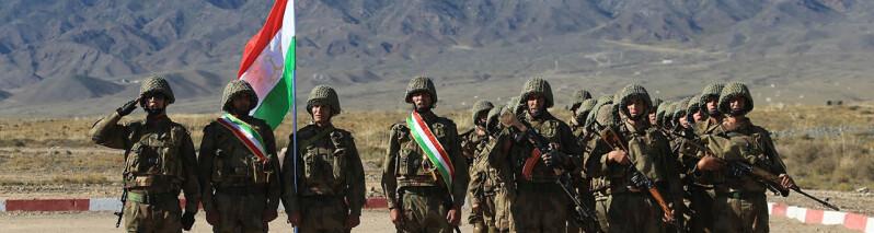 تاجیکستان برای تقویت مرز خود با افغانستان ۲۰ هزار سرباز احتیاطی را بسیج می کند