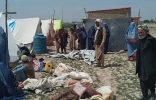 وضعیت بد آوارگان در بلخ؛ مسوولان میگویند به دو هزار آوارهی جنگی رسیدگی صورت میگیرد