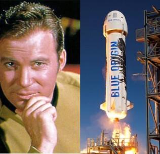 ویلیام شاتنر، ۹۰ ساله، پیرترین فردی که به فضا خواهد رفت!